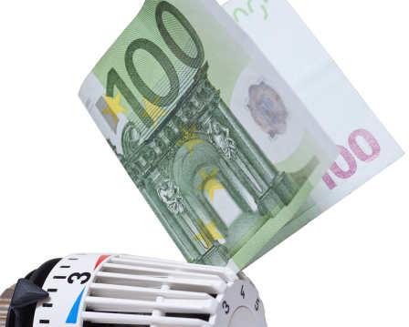 Thermostatventi mit Euro-Schein